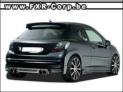 peugeot 207 cc pare choc tuning divers fiestamk6carzone photos club. Black Bedroom Furniture Sets. Home Design Ideas