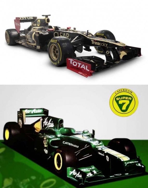 lotus caterham 2012