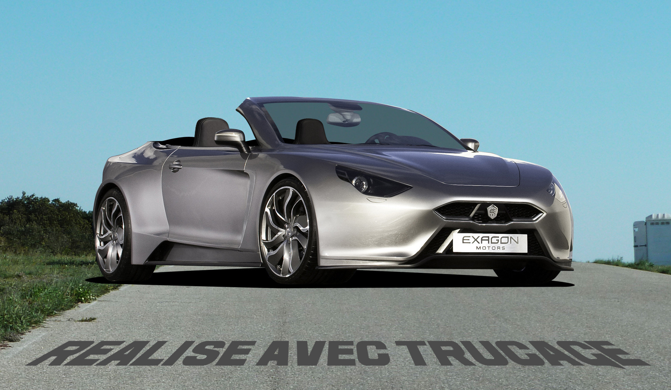 Exagon furtive cabriolet photoshop