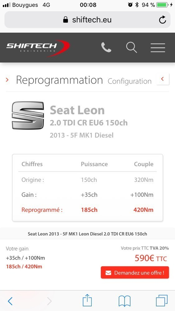 r actions anormales suite reprogrammation leon seat forum marques. Black Bedroom Furniture Sets. Home Design Ideas