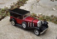Mercedes SS 1928 Solido rouge (1)