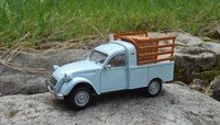 2cv pick up bleue