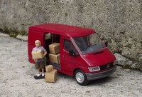 Mercedes Sprinter rouge