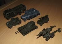 militaire divers dinky 3
