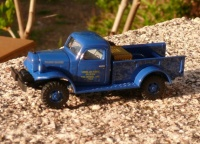 Busch 44010 Dodge power wagon US air force
