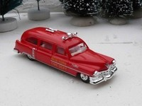 Praline 1/87 Cadillac Break FDNY 1954