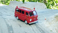 Dodge A100 NYC fire dept  Brekina 34304 1/87