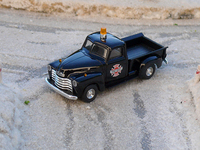 Busch Chevrolet Pickup Fire dpt 1/87