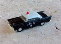 Chevrolet Bel-Air 1957 Police HP Busch 1/87