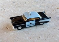 Chevrolet Bel-Air 1957 Police HP praliné 1/87
