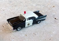 Chevrolet Bel-Air 1957 Police HP Monogram 1/87 Custom