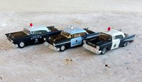 Chevrolet Bel-Air 1957 Police Highway Patrol 1/87