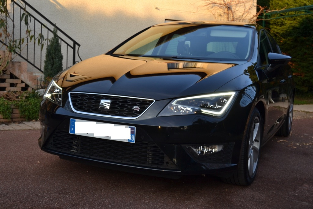 seat leon 3 fr tdi 150 noir pr sentation leon seat forum marques. Black Bedroom Furniture Sets. Home Design Ideas