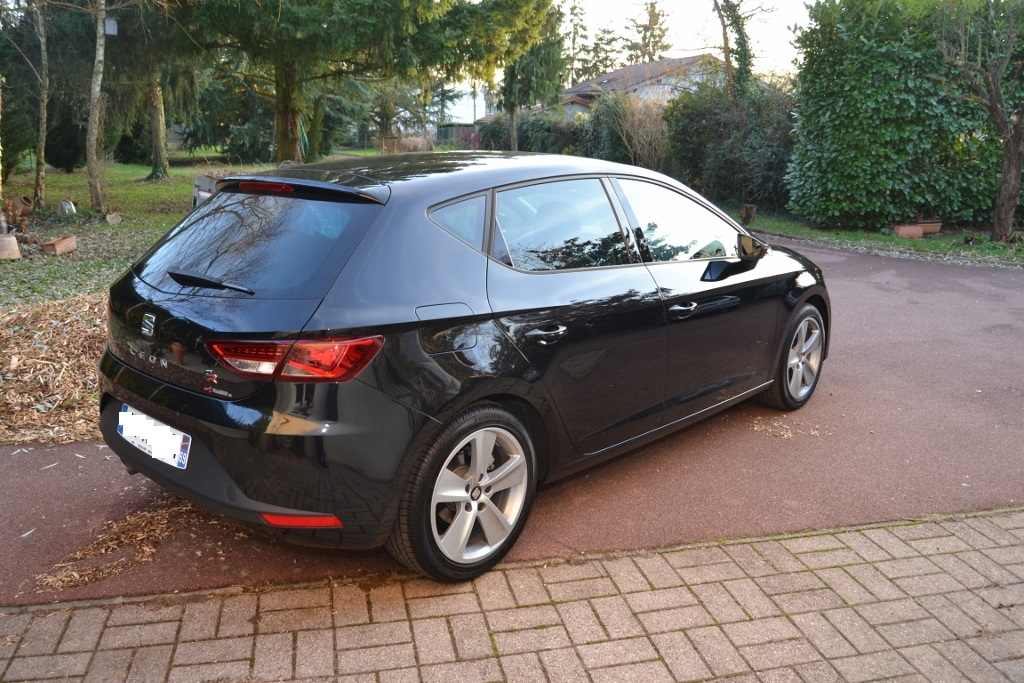 seat leon 3 fr tdi 150 noir pr sentation leon seat. Black Bedroom Furniture Sets. Home Design Ideas