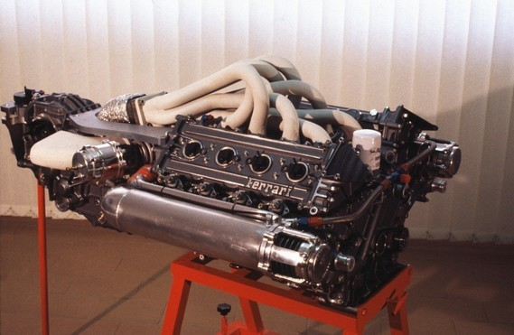 Ferrari Indy engine