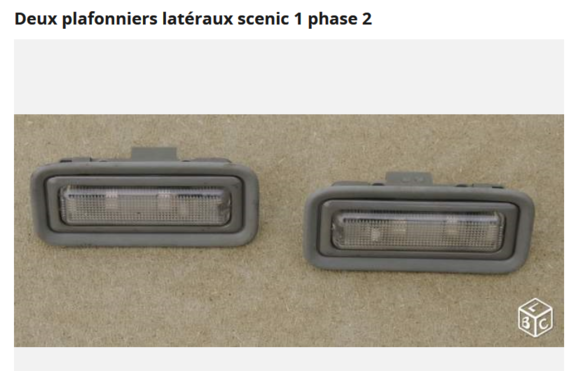 plafonniers scenic 1 phase 2