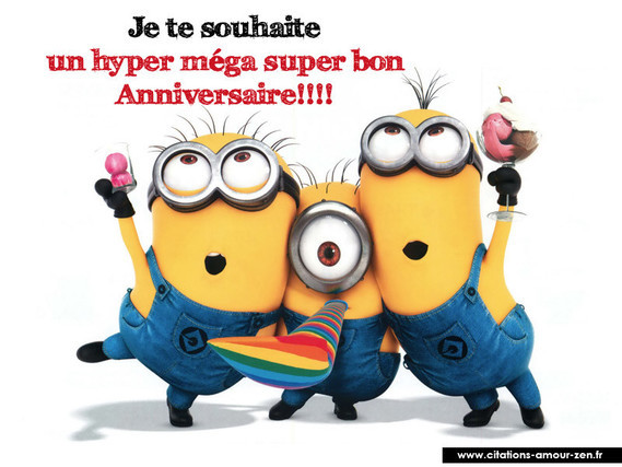 Citations Minions 9981 Anniversaire Jiji1 Photos