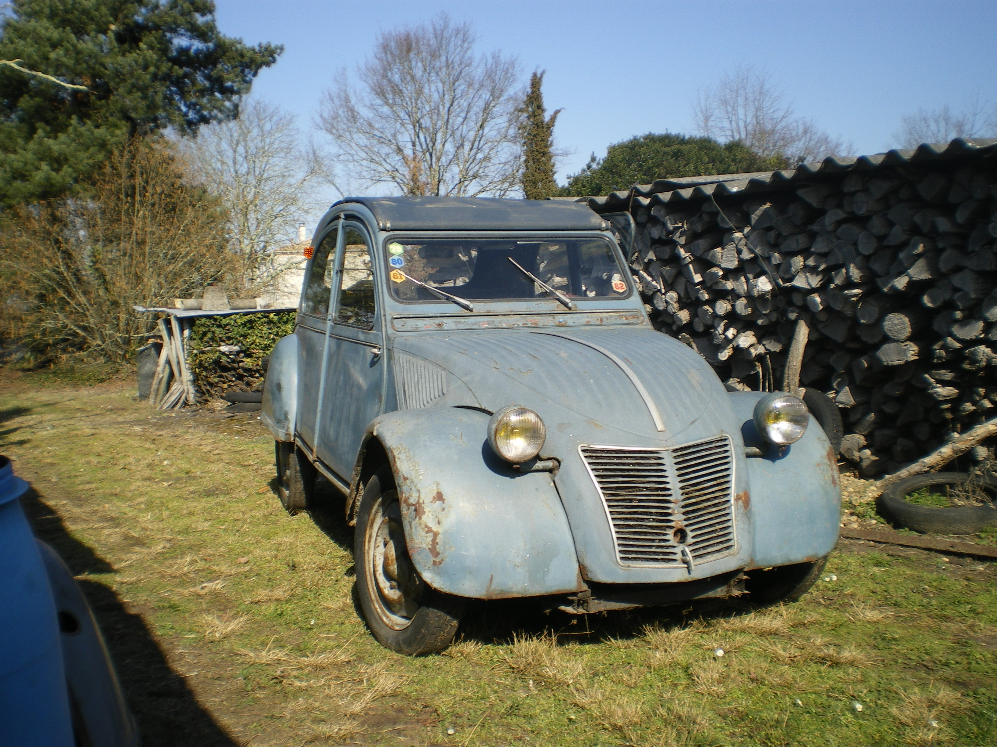 ma citroen 2cv aza de 1969 page 9 restaurations. Black Bedroom Furniture Sets. Home Design Ideas
