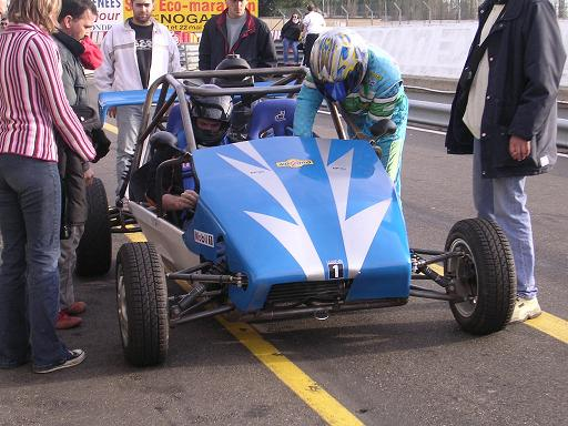kart cross biplace