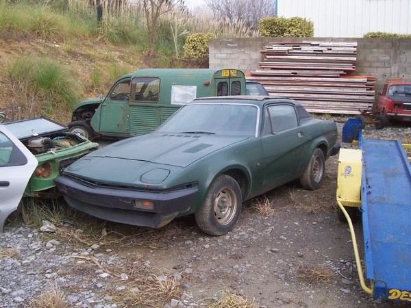 Restauration Triumph Tr7 De 1979 Restaurations Anciennes Forum